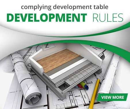 Complying Development Table Summary