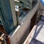 Austech Insulation Panels Screwed & Fixed to Frame