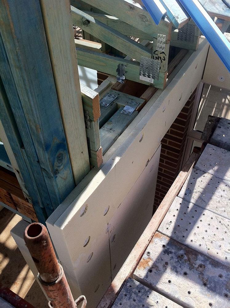 Austech Panels Installed Horizontally