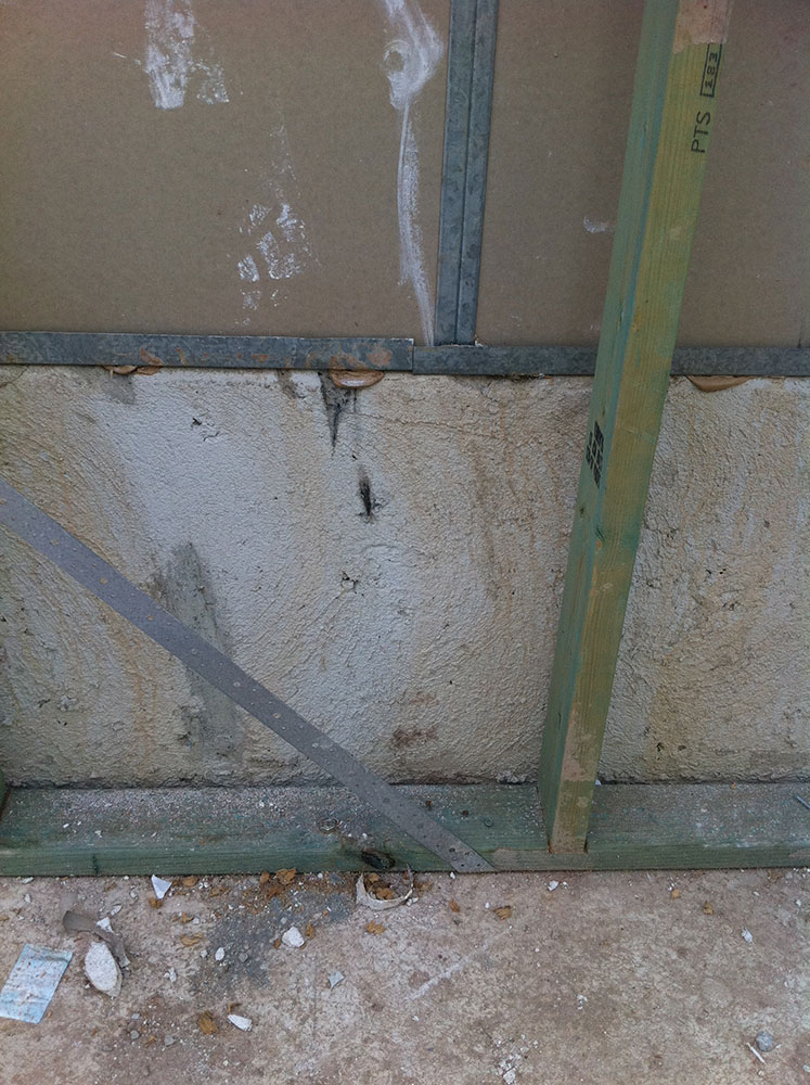 Fire Proof Sealant to Party Wall, to Ensure Fire Proofing