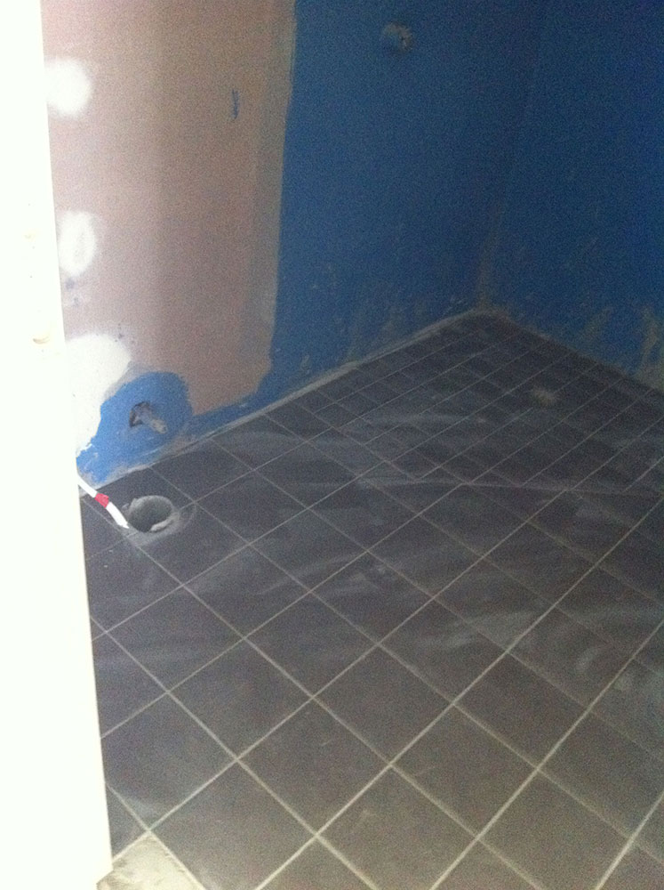 High Density & Durable Waterproofing to All Floor & Wall Penetrations