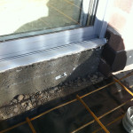 F82 Steel Reinforcement & Expansion Joint On Perimeter Brickwork To Avoid Cracks