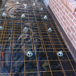 Steel Rinforcement Chaired Up & Ready For Concrete Pouring