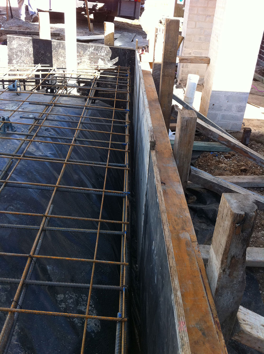 Concrete Encased Carport Posts For Upmost Strength