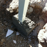 Engineered Mass Concrete Footings For Carport Posts