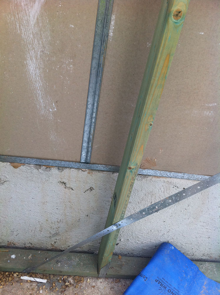 Partiwall Fire Rated Wall on Top of Drop Edge Beam