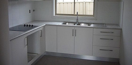 Kitchen of the Concord Granny Flat