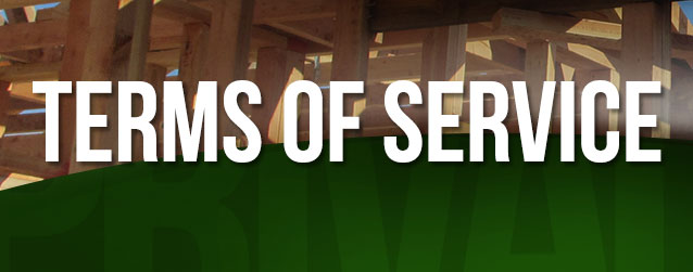 Terms of Service Header