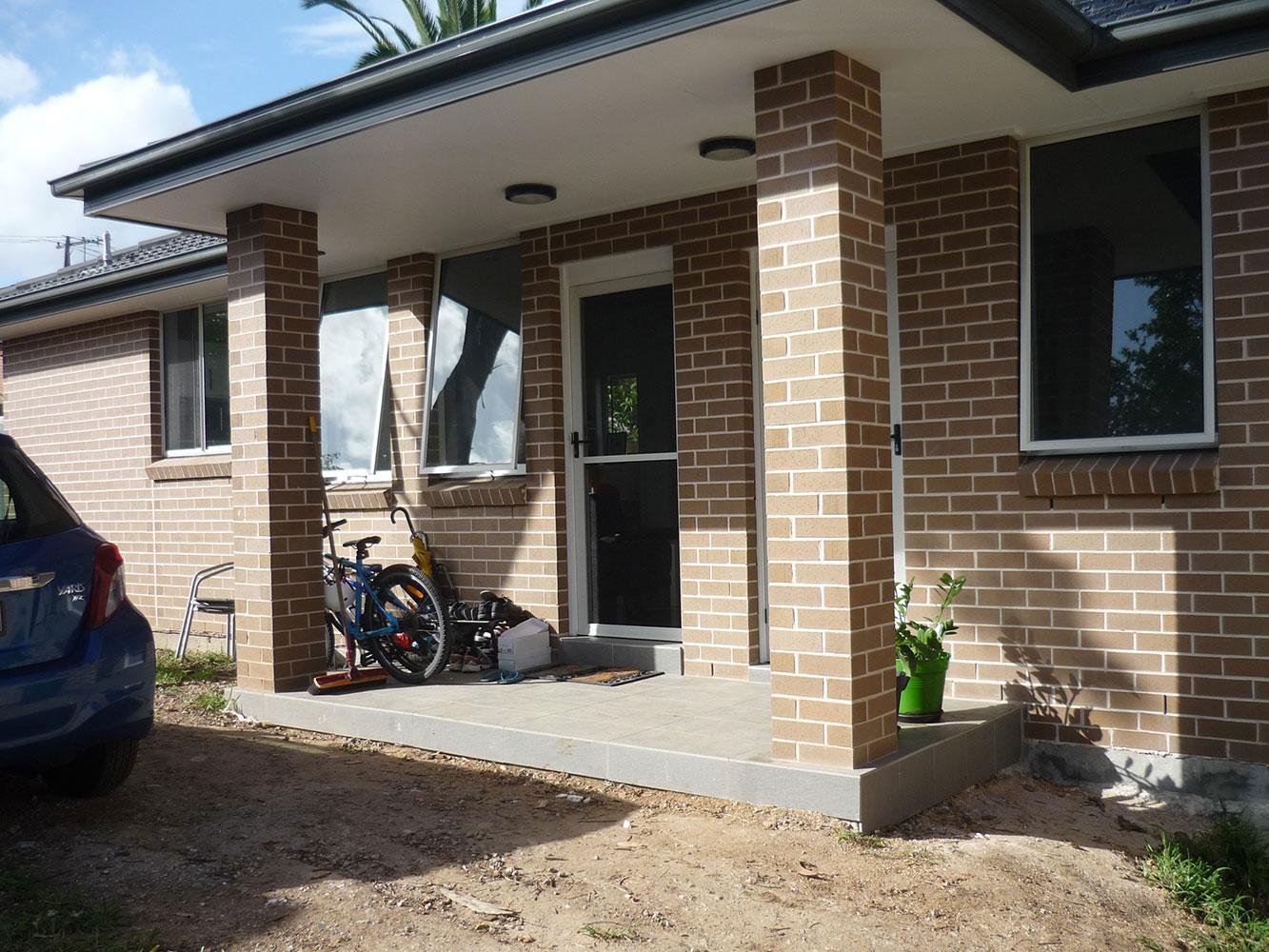 Brick granny flat external 3.3