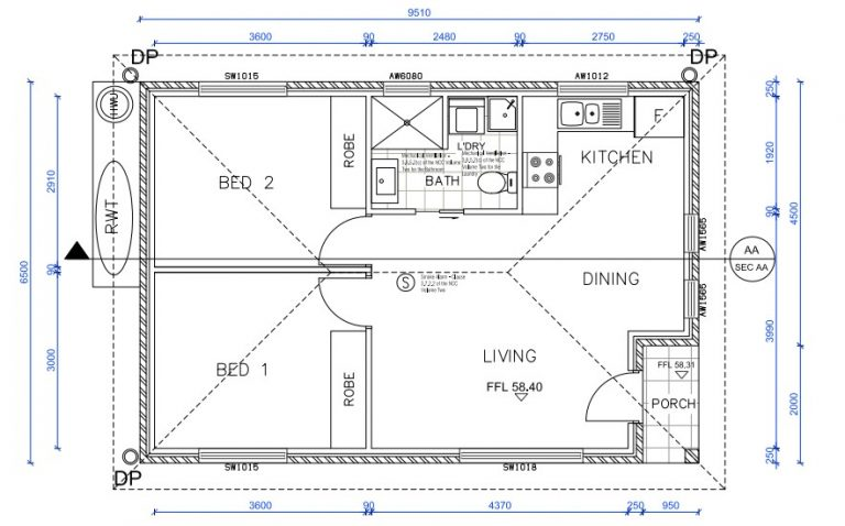 granny-flat-builders-gordon-floor-plan
