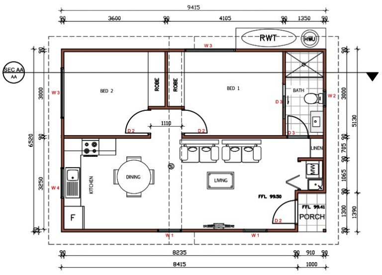 granny-flat-builders-manly-floorplan