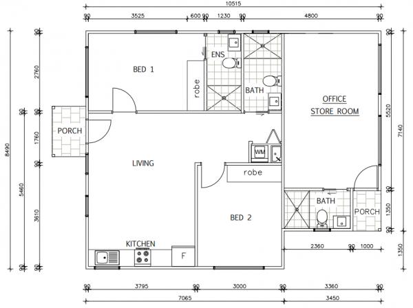granny-flat-builders-warriewood-floor-plan
