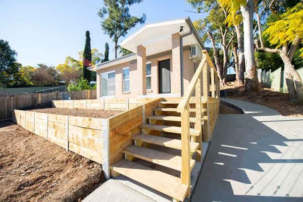 granny-flat-builders-willoughby-outside-stairs